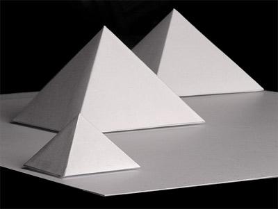 pyramiden basteln modell bausatz ausschneidebogen bastelbogen gizeh pyramiden. Black Bedroom Furniture Sets. Home Design Ideas